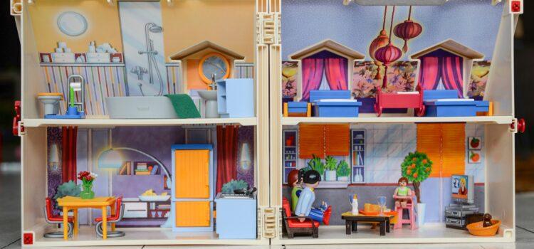 The Tiny Dollhouse för dockor som kräver lite mer