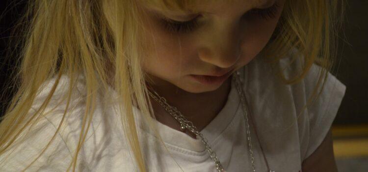 Silverörhängen för barn